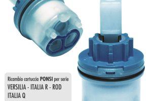 Cartuccia PONSI Ø 25 per miscelatore VERSILIA/ITALIA R/ROD/ITALIAQ