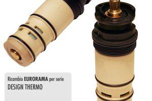Cartuccia termostatica per miscelatore vasca/doccia EURORAMA / DESIGN THERMO - R1962