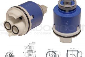 KEROX K 42 D | Cartuccia KEROX K-42D di ricambio per miscelatore monocomando Ø 42 mm
