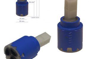 Cartuccia per miscelatore monocomando Ø 25 GEDA - K25M