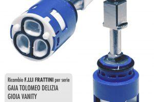 Cartuccia per miscelatore monocomando Ø 25 rubinetterie F.LLI FRATTINI - R08013