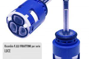 Cartuccia per miscelatore monocomando Ø 25 rubinetterie F.LLI FRATTINI - R08029