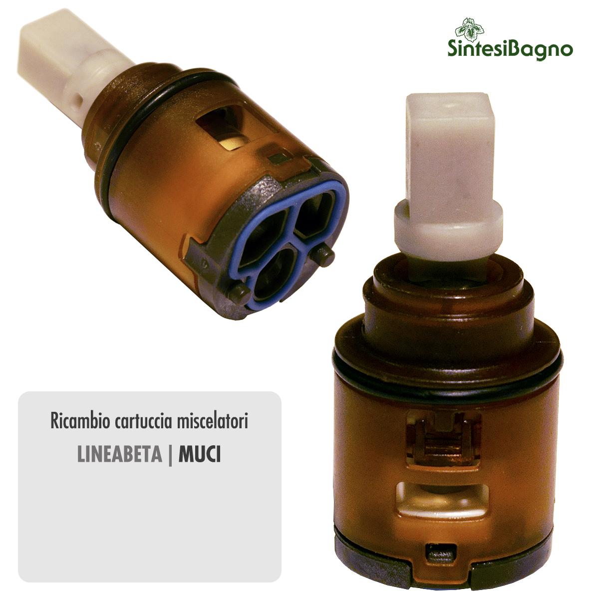 Cartuccia per miscelatore monocomando Ø 25 rubinetterie LINEABETA - R2254232