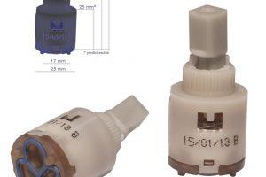 Cartuccia per miscelatore monocomando Ø 25 rubinetterie PAINI - 53CC956G25