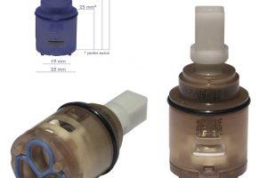Cartuccia per miscelatore monocomando Ø 25 rubinetterie PAINI - 53CC956G251O