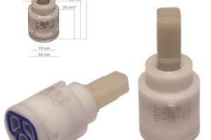 Cartuccia per miscelatore monocomando Ø 25 rubinetterie RITMONIO - RCMB018