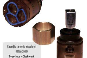 Cartuccia per miscelatore monocomando Ø 25 rubinetterie RITMONIO - RCMB231