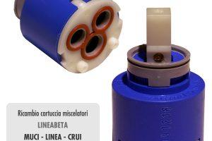 Cartuccia per miscelatore monocomando Ø 35 rubinetterie LINEABETA - R2254021