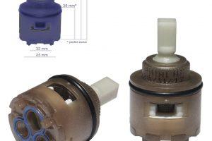 Cartuccia per miscelatore monocomando Ø 35 rubinetterie PAINI - 53CC956G350