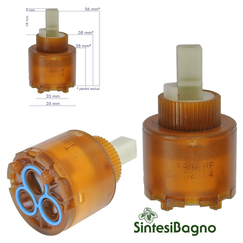 Cartuccia per miscelatore monocomando Ø 35 rubinetterie PAINI - 53CC956GMCF
