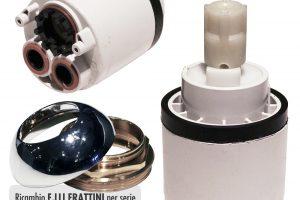 Cartuccia per miscelatore monocomando Ø 42 rubinetterie F.LLI FRATTINI - R08003