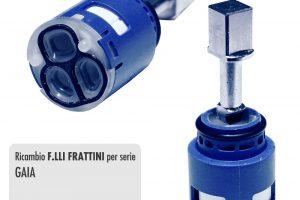 Cartuccia per miscelatore monocomando Ø 25 rubinetterie F.LLI FRATTINI - R08026