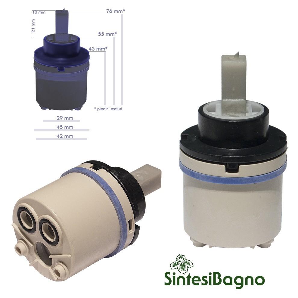 Cartuccia per miscelatore monocomando Ø 45 rubinetterie PAINI - 20CC956QCF