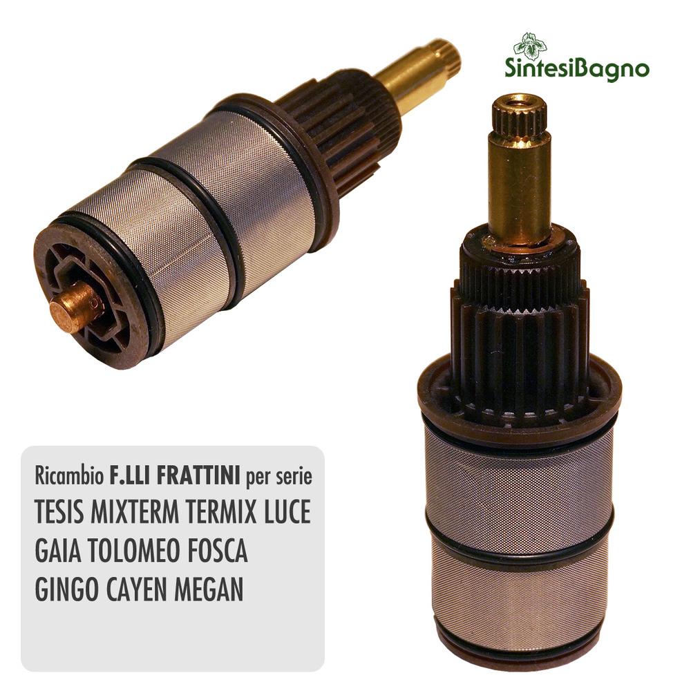 Vitone termostatico F.lli FRATTINI anticalcareo MIXTERM per incasso - R28011