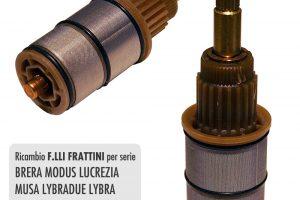Vitone termostatico F.lli FRATTINI per incasso - R28019
