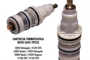 Cartuccia termostatica GESSI CA43 29233